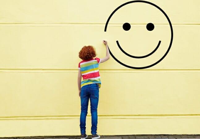 Para ser feliz!