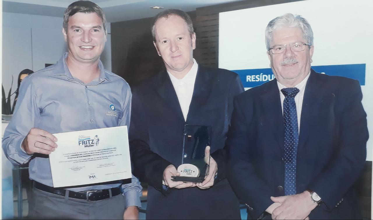 Ir para Consórcio Itá é premiado na 20º edição do Prêmio Fritz Müller