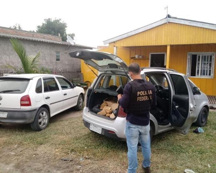 Ir para Operação da PF mira organização criminosa do RS que enviava drogas ao Uruguai.