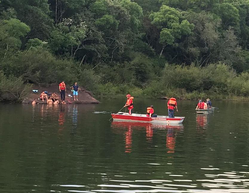 Localizado corpo de jovem de Erechim que desapareceu em cascata de Entre Rios do Sul.