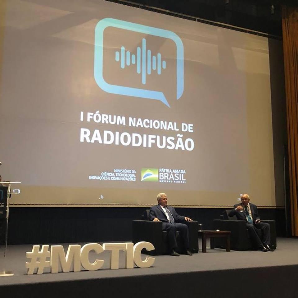 I FÓRUM NACIONAL DE RADIODIFUSÃO
