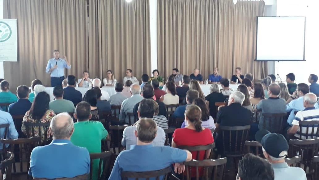 Ir para  Schuch participa do lançamento do Grito de Alerta  e reforça defesa da aposentadoria rural