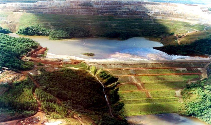 Ir para Rompimento da barragem em Barão de Cocais está próximo de ocorrer.