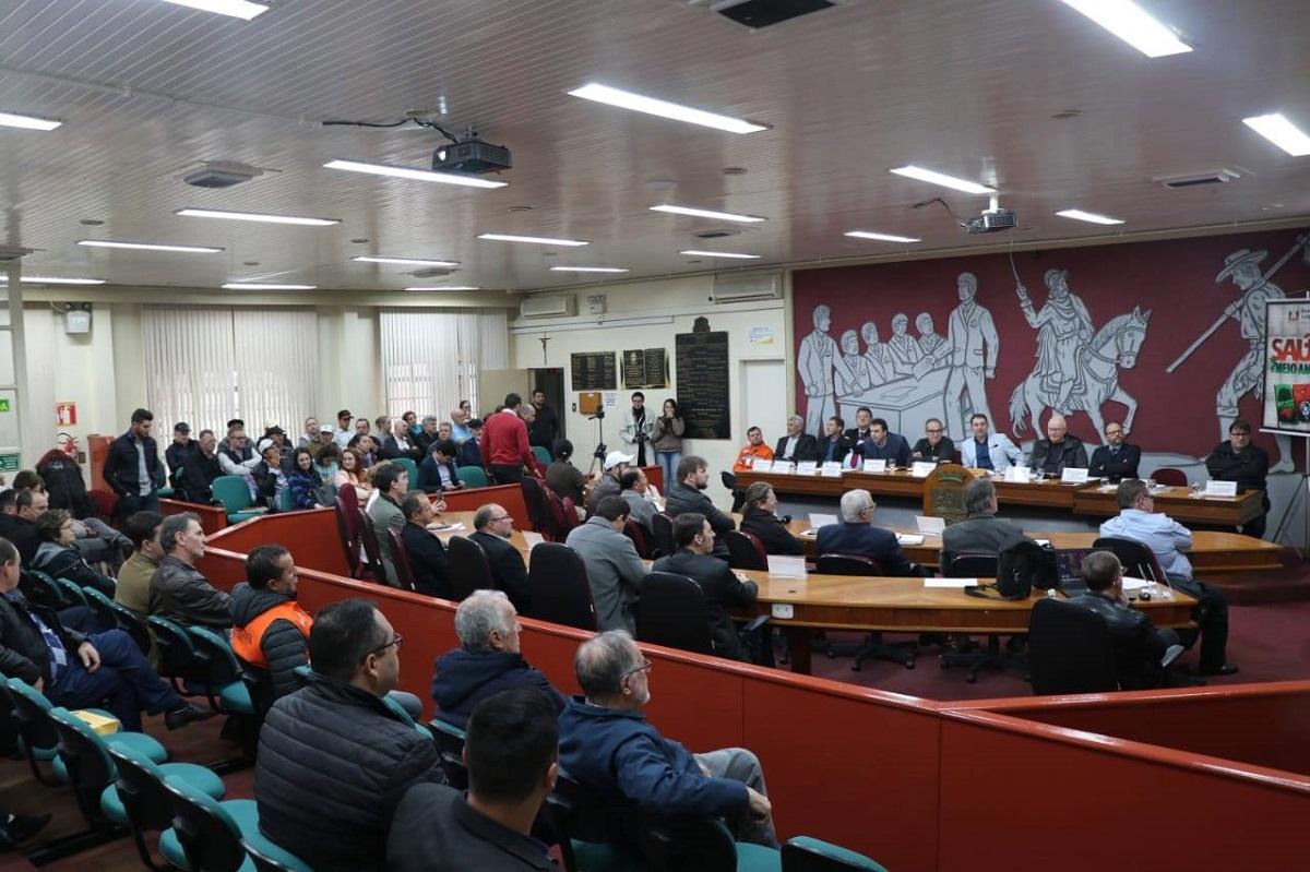 Alto Uruguai Gaúcho discute segurança de barragens