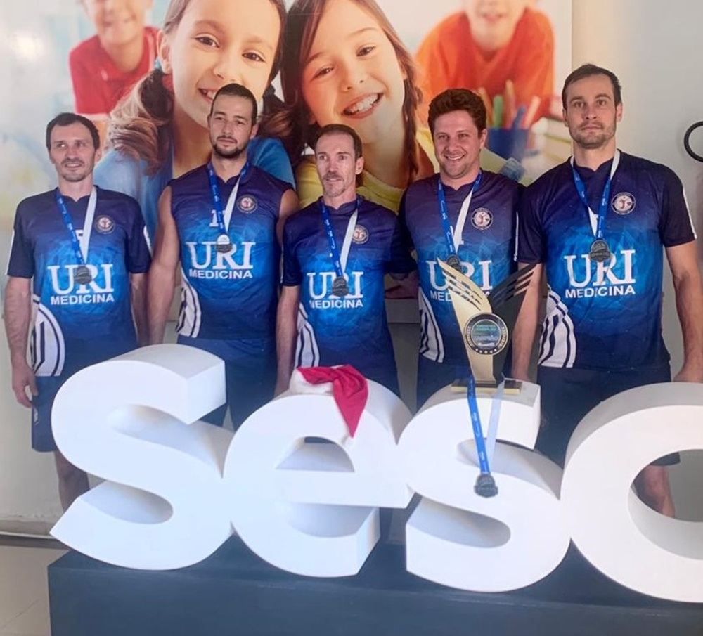 Ir para Equipe de Voleibol da URI Erechim é Campeã do Torneio Sesc  4×4 Indoor