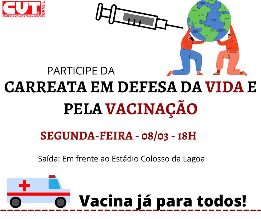 Ir para  <p><big>O Dia Internacional da Mulher, comemorado na pr&oacute;xima segunda-feira, dia 8 de mar&ccedil;o, ser&aacute; marcado em Erechim por uma Carreata em Defesa da Vida e pela Vacina&ccedil;&atilde;o,...